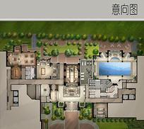 别墅庭院景观规划