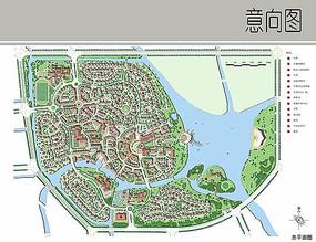 滨水小区景观规划