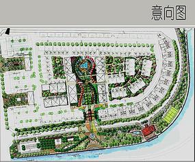 滨水住宅区景观设计