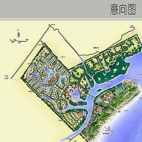 城市滨水景观设计