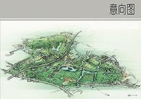 城市绿化效果图