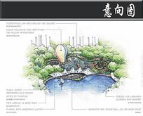 东苑古龙城热气球区手绘图