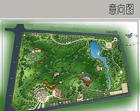公园景观设计彩平图
