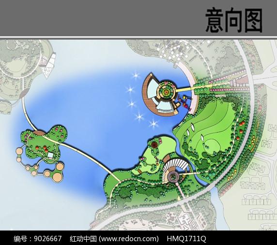 公园趣味运动区节点平面