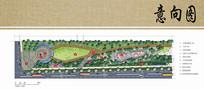 公园入口景观设计平面图 JPG
