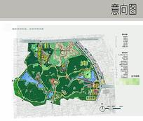 公园总平面图