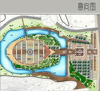 广场景观彩平图 JPG
