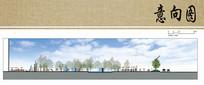 广场景观设计立面图