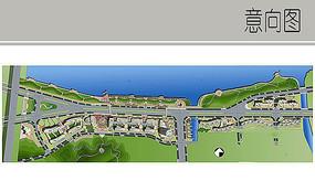 江滨景观设计彩平
