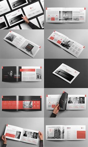 商务企业产品宣传画册