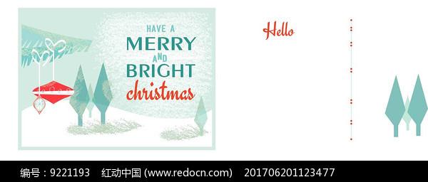 圣诞节卡片图片