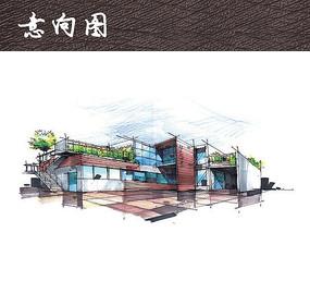 社区活动中心建筑