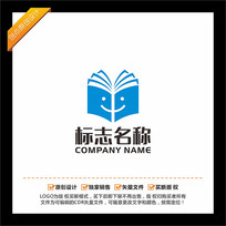 书本教育培训LOGO设计 CDR
