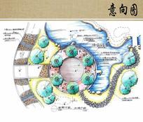 太极广场手绘平面图 JPG