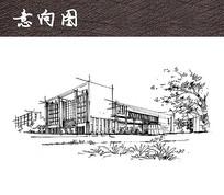 图书馆建筑 JPG