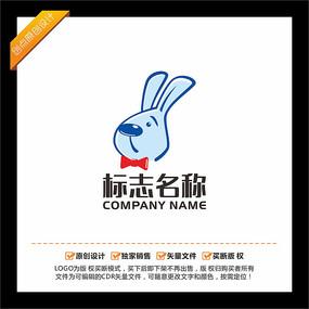 兔子卡通LOGO设计