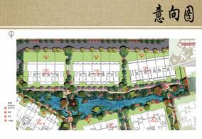 溪流景观设计平面