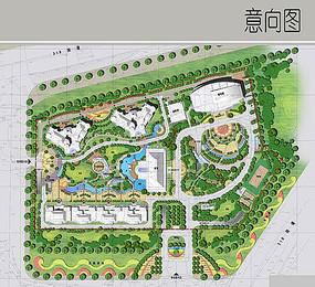 学院景观设计彩平 JPG