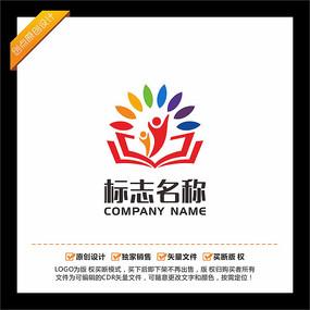 阳光教育培训logo设计