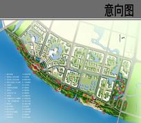 沿江风光带景观设计平面图