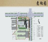 医院综合楼建筑方案设计总平面