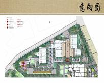 幼儿园景观规划平面图 JPG