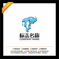 鲨鱼卡通LOGO设计 CDR