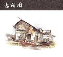 中式老房子