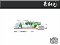 珠海某小区人行道剖面图 JPG