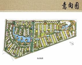 住宅区景观概念设计