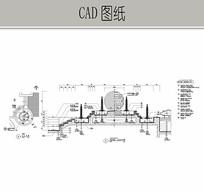 喷泉广场CAD CAD