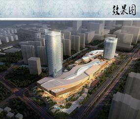 综合商业建筑效果图2518125181hhid图纸图片
