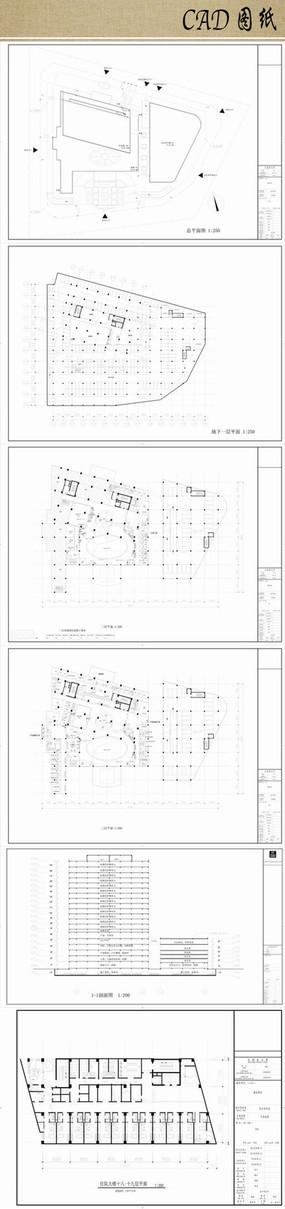 医院建筑设计方案cad