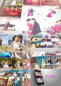 爱情浪漫婚礼相册AE模板