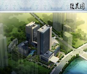 公寓酒店鸟瞰图 JPG