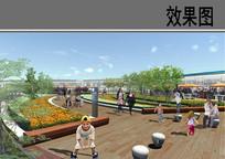 某广场屋顶花园效果图 JPG