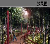 某河景观设计湿地公园效果图 JPG