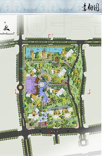 商品房小区景观设计平面图