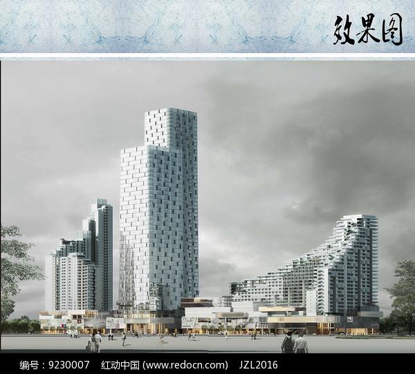 商业住宅设计效果图图片