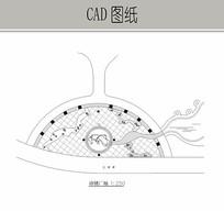 诗情广场平面图 CAD