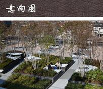 屋顶休闲花园广场设计