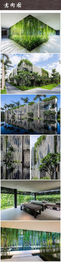 现代绿化景观建筑设计 JPG