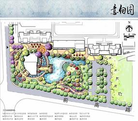 住宅区景观方案平面图