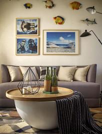 北欧风格温馨的小房间 JPG