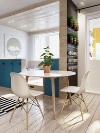 北欧风格小屋子设计 JPG