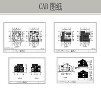 别墅建筑详图