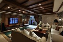 东南亚风格大气别墅设计 JPG