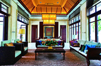 东南亚风格大型住宅装修 JPG