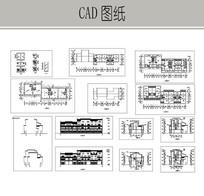 仿古民居建筑施工图