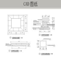 方形树池CAD dwg